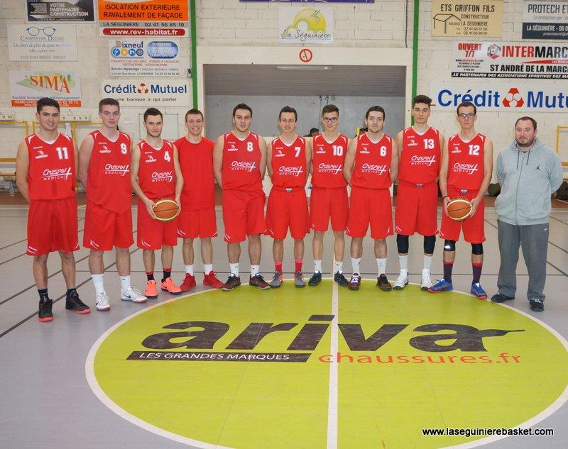 Junior 1 2017 Lasegbasket