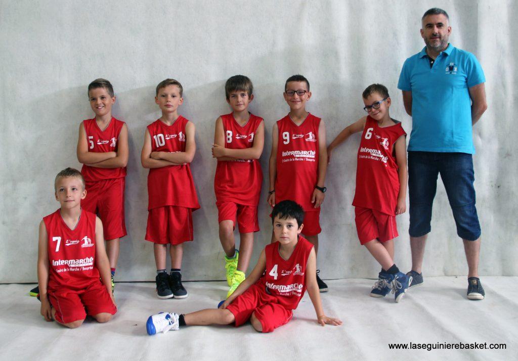 U11M 2016 Lasegbasket