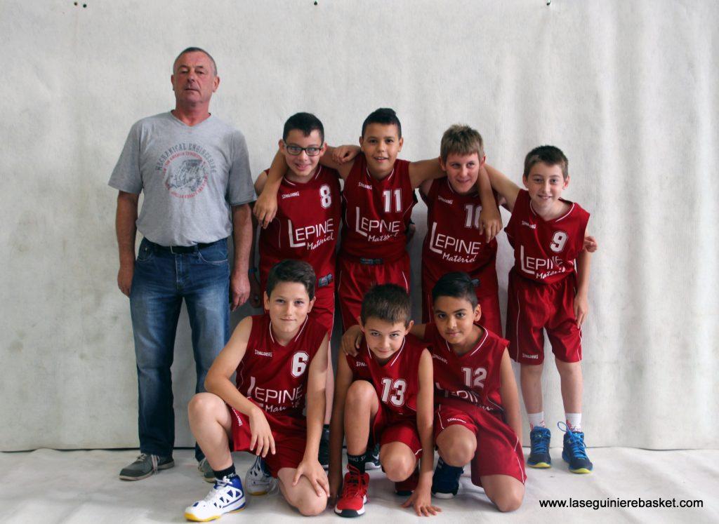 U13M 2016 Lasegbasket