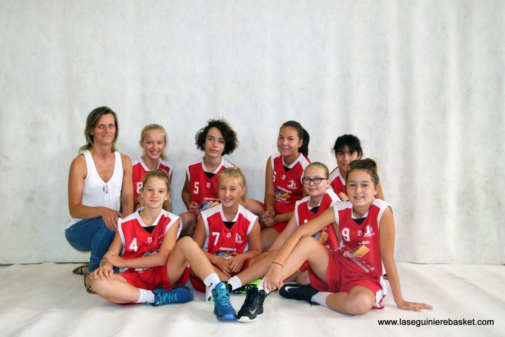 U15F 2016 Lasegbasket