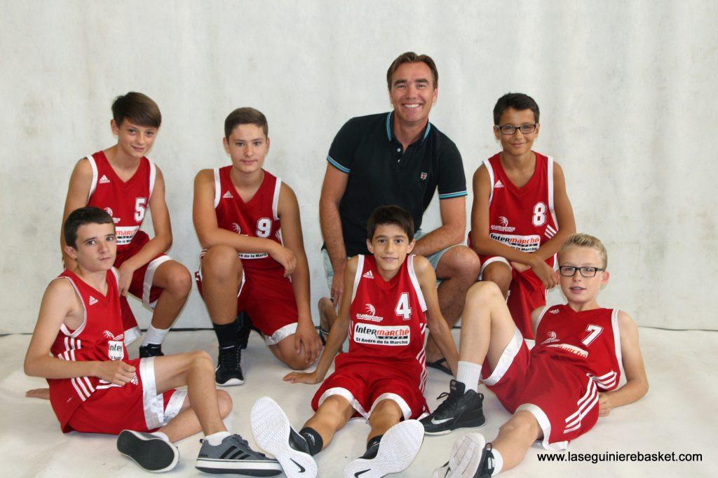 U15M 2016 Lasegbasket